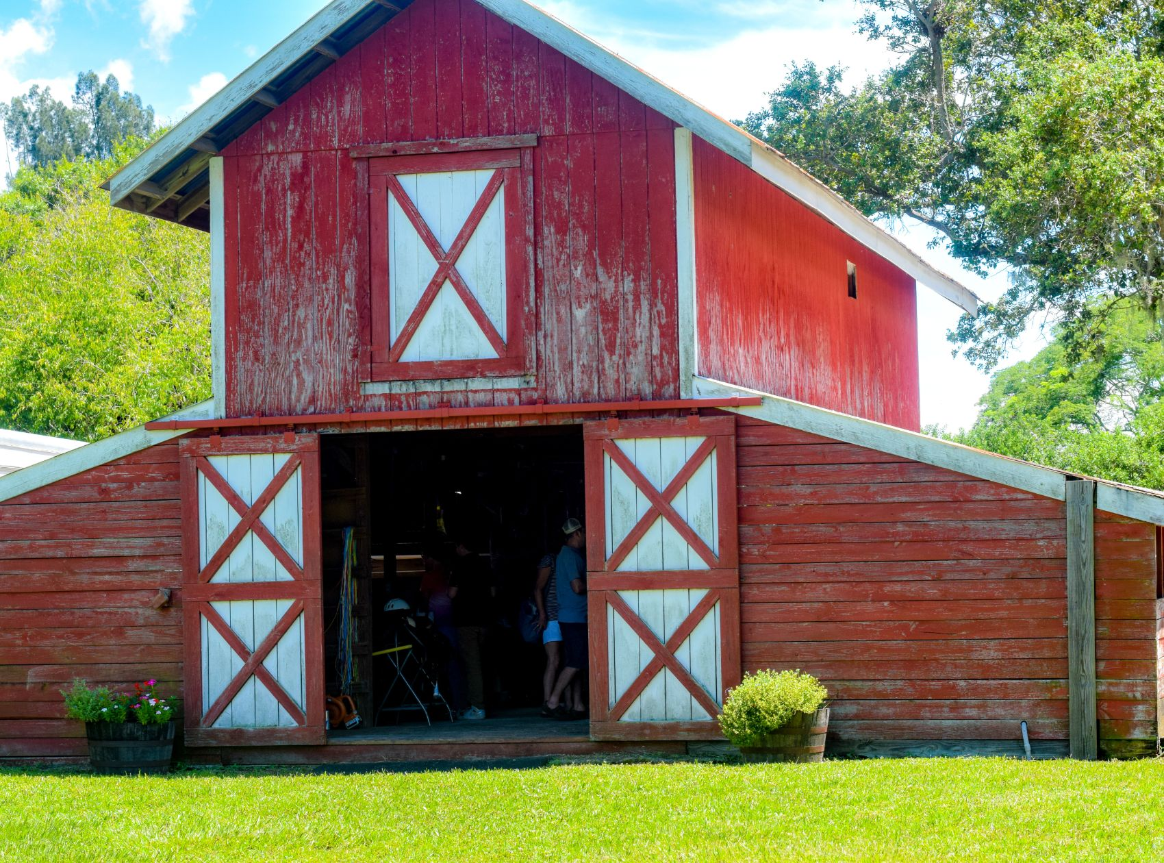 Rustic Red Barn The Farm Experience Palmetto FL